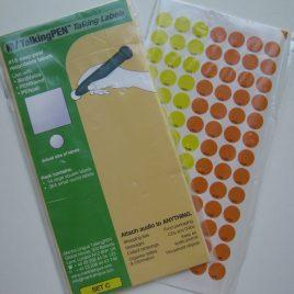 Cimkéző toll szetthez címke csomag