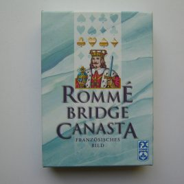 Francia kártya, 2×55 db
