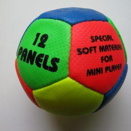 Kis focilabda, színes Mini Ball