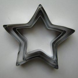 Sütikiszúró, fém-csillag 3darabos