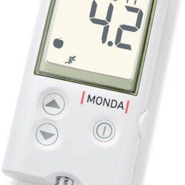 DCONT MONDA vércukormérő szett, magyarul beszélő