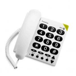 Nagy gombos, vezetékes telefon