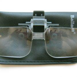 Nagyító, szemüvegre csiptethető 2X