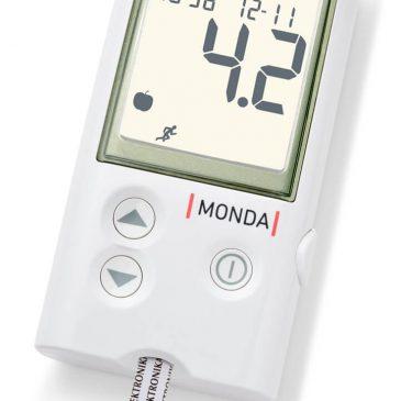 Dcont® MONDA beszélő vércukormérő