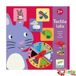Tapintásfejlesztő társas játék, állatok