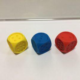 Tapintható dobókocka 3DPrint