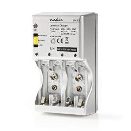 Akkumulátor töltő, univerzális AA/AAA/9V