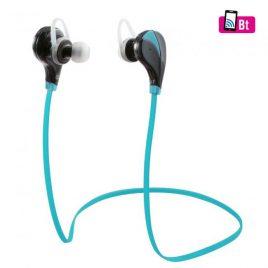 Fülhallgató, Bluetooth sport, kék BTEP